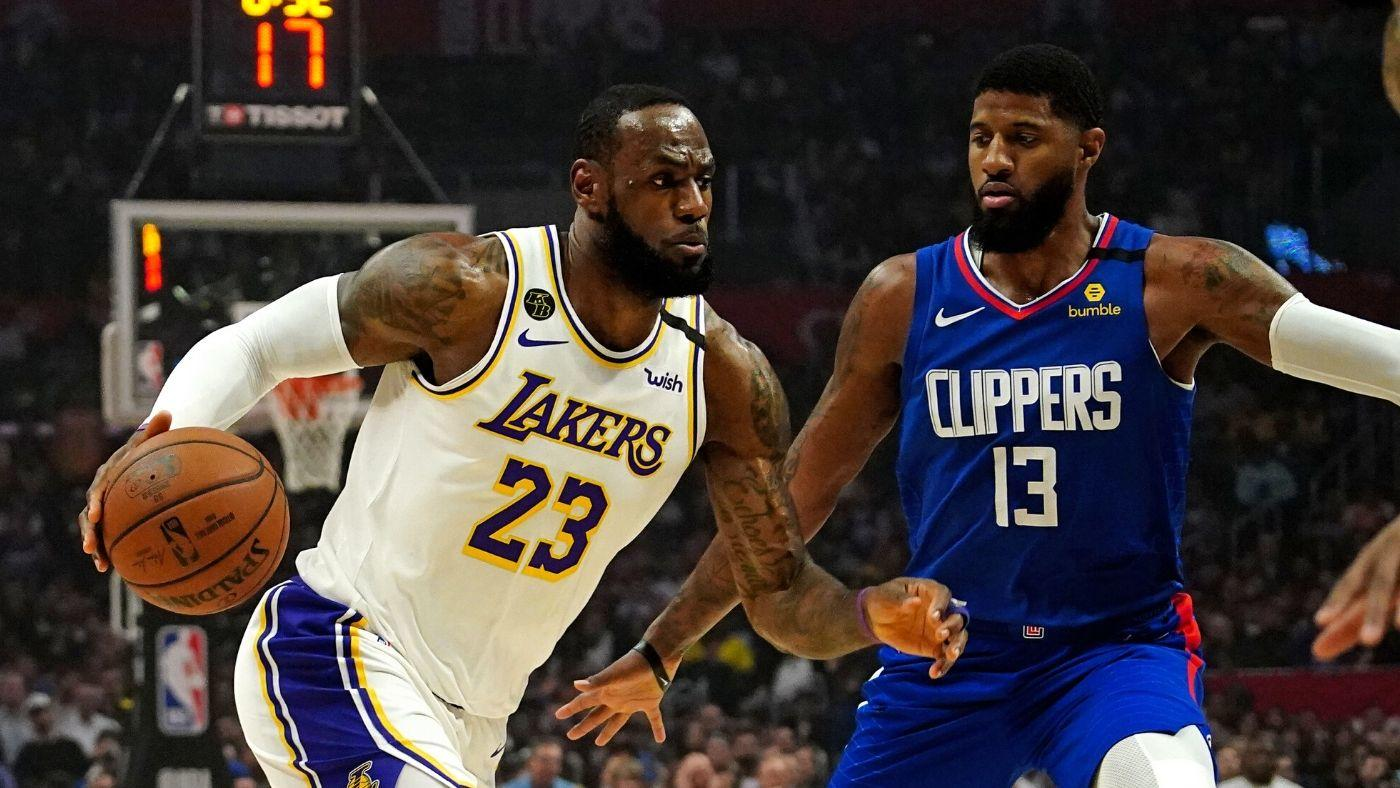 Lakers vs. Clippers LeBron and Anthony seek help from supporting cast